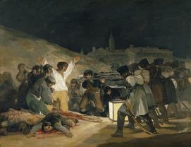 Fusilamientos del 3 de mayo de 1808, de Francisco de Goya. Nada preventivos.