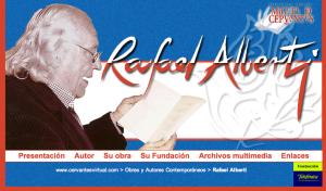 Portal de Alberti en Cervantes Virtual