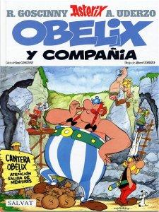 Portada de Obélix y Compañía