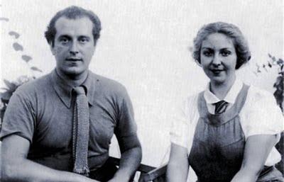 Alberti y su primera esposa, María Teresa León