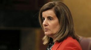 La ministra de Empleo y Seguridad Social, Fátima Báñez. (EFE)