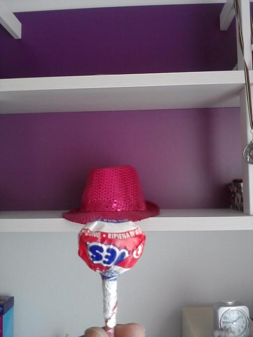 Chupachups con sombrero, de Altea