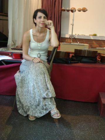 Lidia, la profesora de música