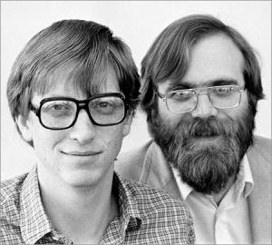 Bill Gates y Allen