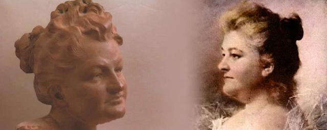 Emilia Pardo Bazán. Imagen tomada del portal de Cervantes virtual