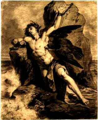 El castigo de Prometeo.