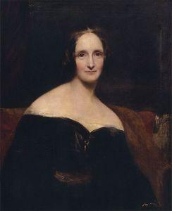 Mary Shelley, por Rothwell
