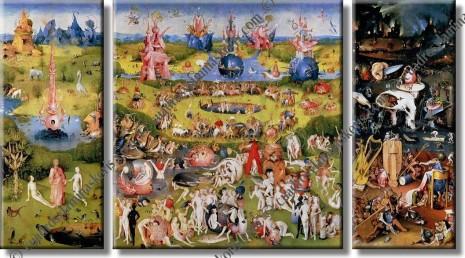 El jardín de las delicias. Pincha en la imagen para descargar el archivo