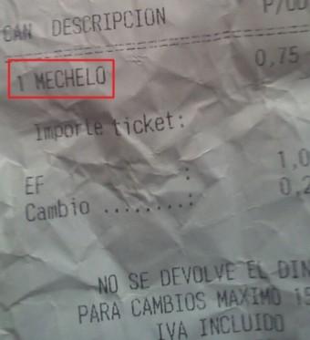"""Cristian, 4ºA nos manda este """"mechelo"""""""