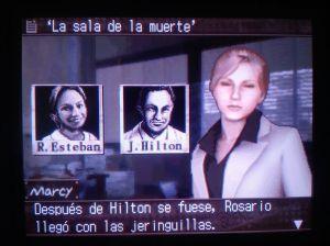 Rocío, again, de un videojuego.