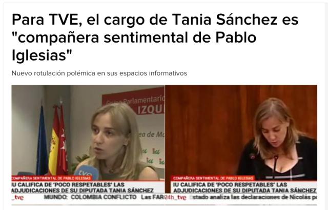 Noticia en TVE recogida por la Cadena Ser. Pincha para acceder a la fuente