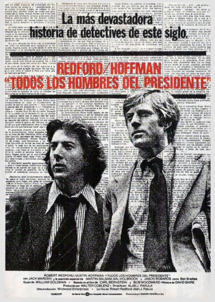 Cartel español de la película