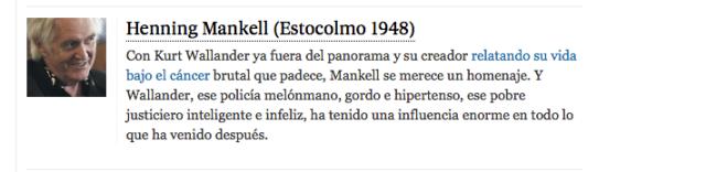 Fuente, El país, 24/10/2014