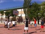 4º A en la final de baloncesto