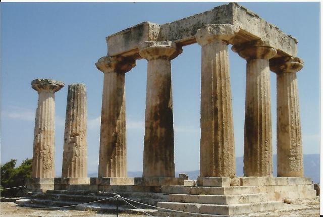 Corinto. Templo de Apolo